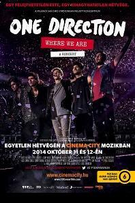 One Direction: Where we are – A KONCERT – Plakát
