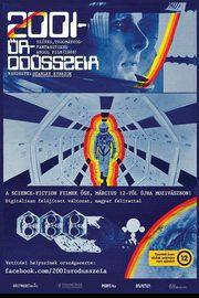 2001 - Űrodüsszeia – Plakát