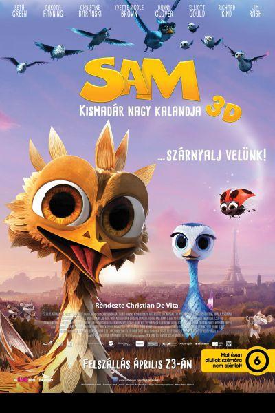 Sam - Kismadár nagy kalandja – Plakát
