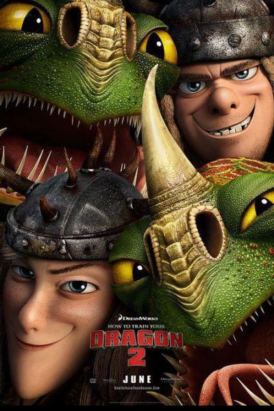Így neveld a sárkányodat 2. – Plakát
