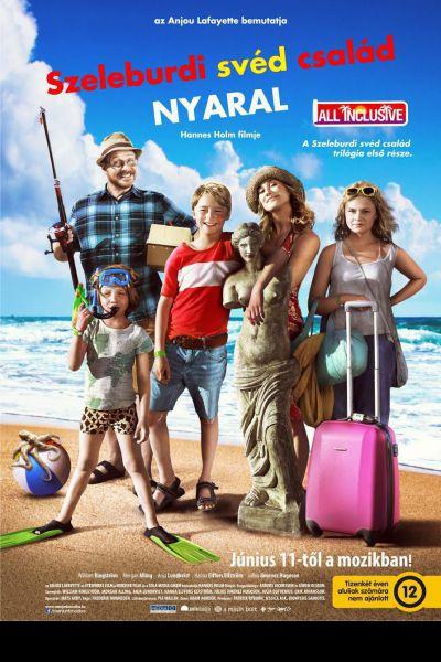 Szeleburdi svéd család nyaral - All Inclusive – Plakát