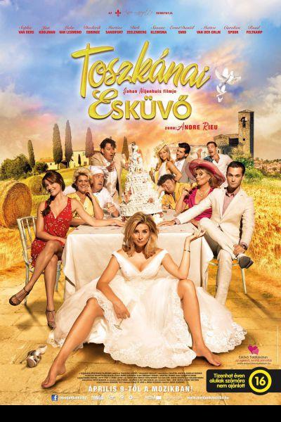 Toszkánai esküvő – Plakát