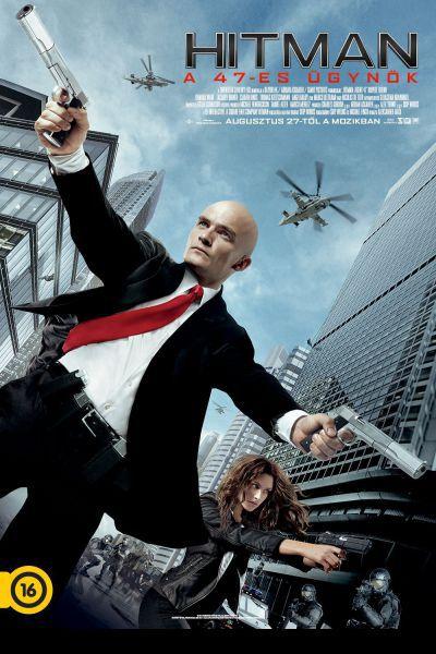 Hitman- A 47-es ügynök – Plakát