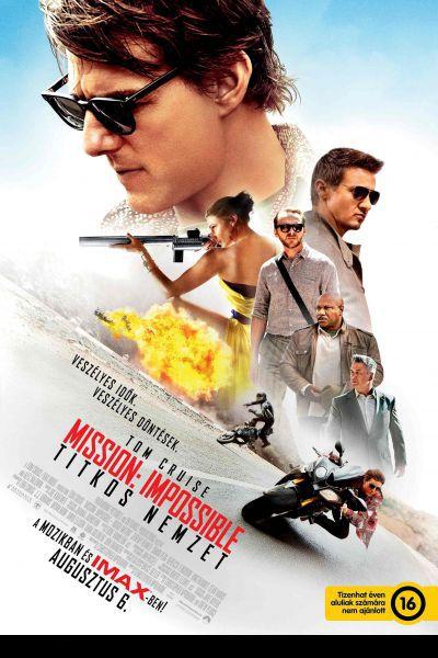 Mission: Impossible - Titkos nemzet – Plakát
