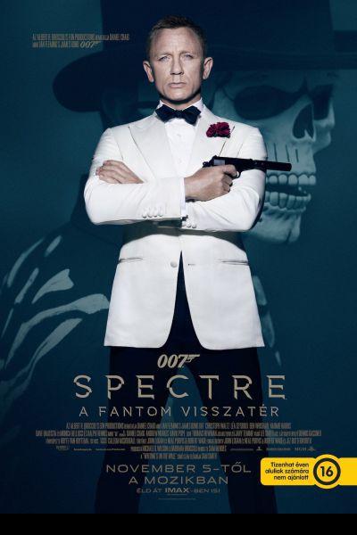 007 Spectre - A Fantom visszatér – Plakát