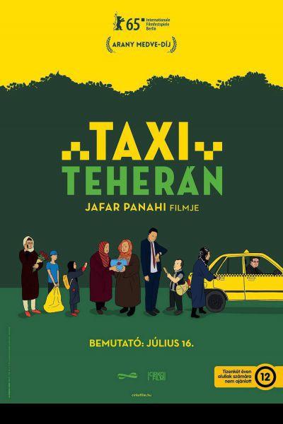 Taxi Teherán – Plakát