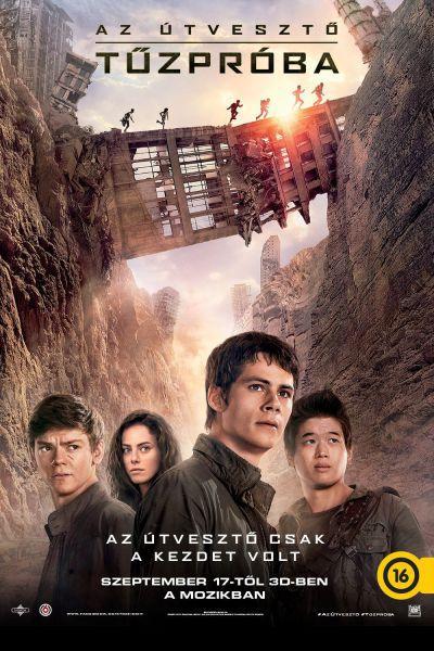 Az útvesztő: Tűzpróba – Plakát
