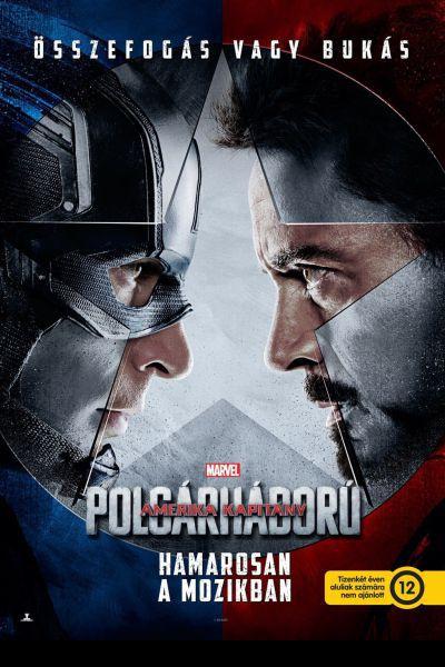 Amerika Kapitány: Polgárháború – Plakát