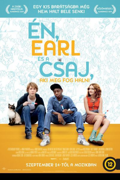Én, Earl és a csaj, aki meg fog halni – Plakát