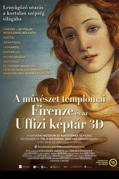 A művészet templomai: Firenze és az Uffizi képtár – Plakát