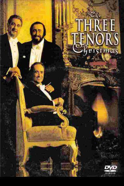 A Három Tenor karácsonyi koncert. Bécs 1999 – Plakát