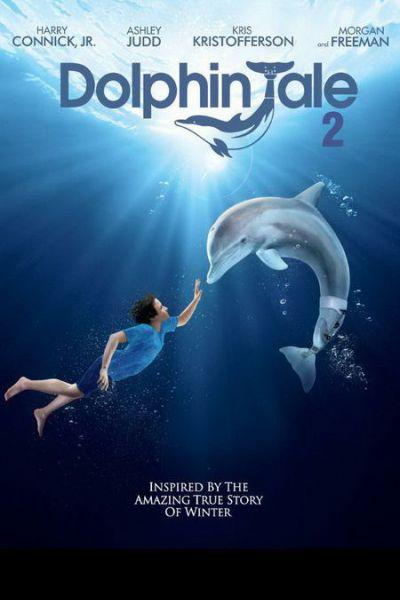 Delfines kaland 2 – Plakát