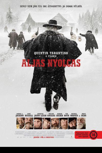 Aljas nyolcas – Plakát