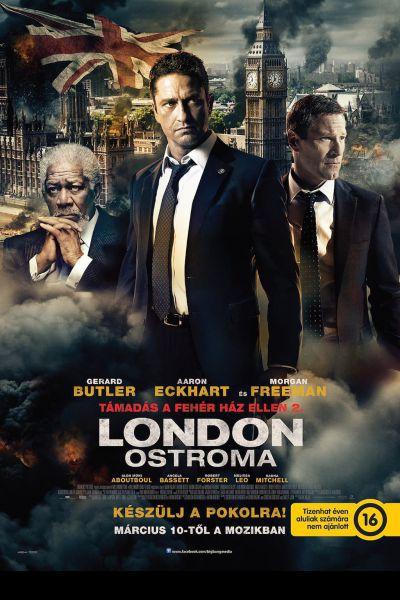 Támadás a Fehér Ház ellen 2. - London ostroma – Plakát