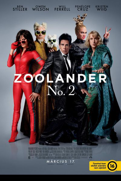 Zoolander 2 – Plakát