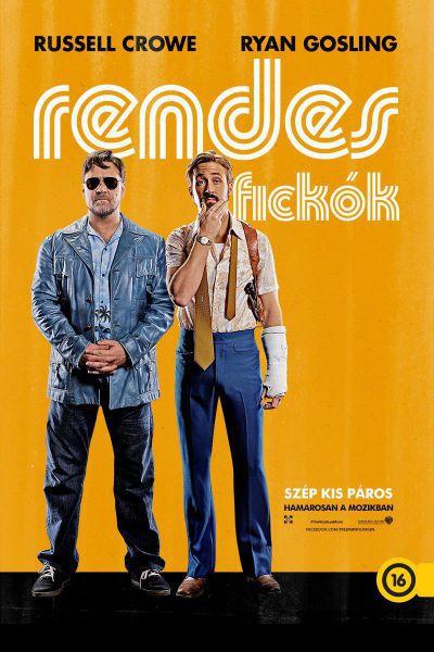 Rendes fickók – Plakát