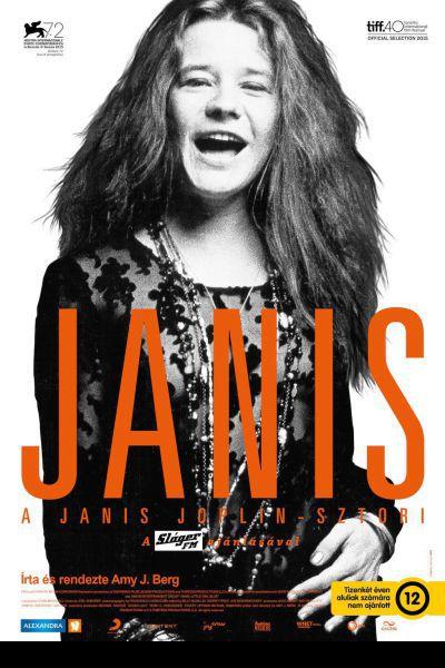 Janis - A Janis Joplin-sztori – Plakát