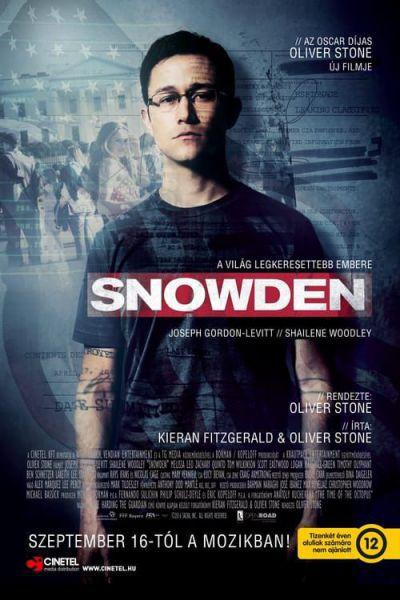 Snowden – Plakát