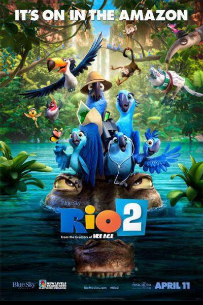 Rio 2 – Plakát