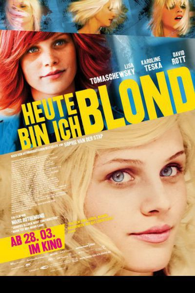 Lány kilenc parókával – Plakát