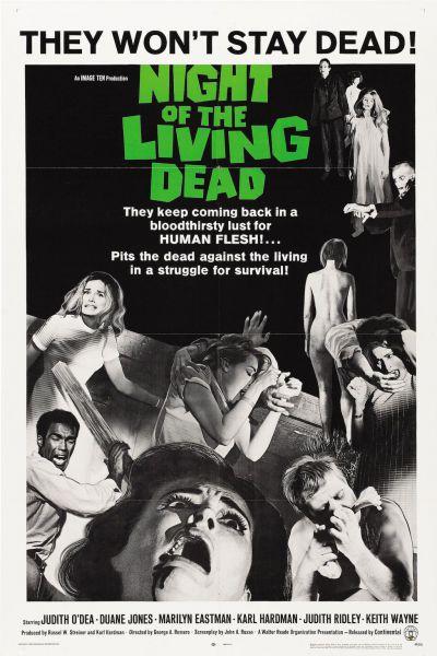 Az élőhalottak éjszakája – Plakát