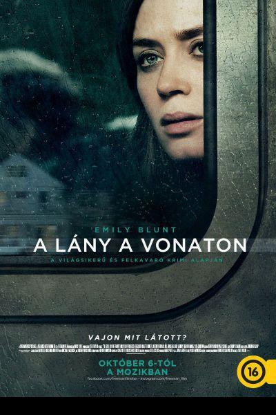A lány a vonaton – Plakát