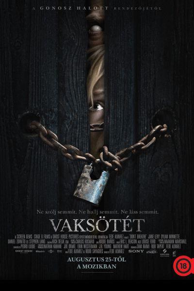 Vaksötét – Plakát