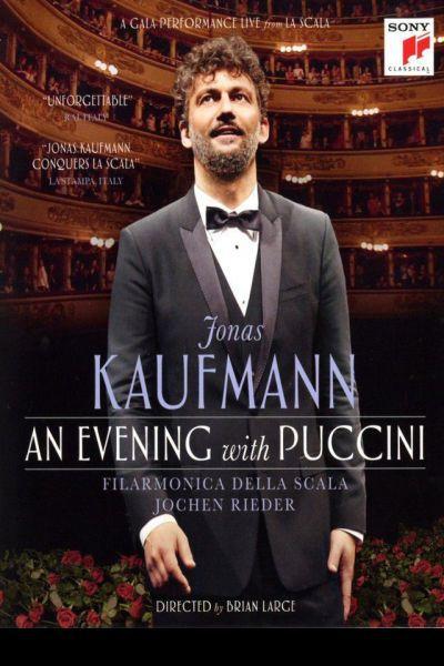 Jonas Kaufmann: Egy est Puccinivel – Plakát