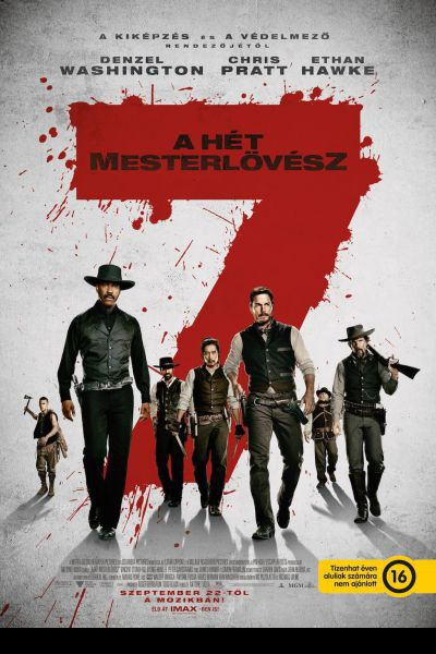 A hét mesterlövész – Plakát