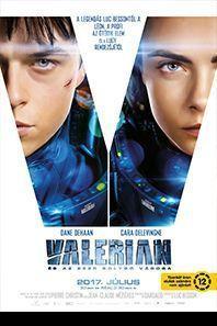 Valerian és az ezer bolygó városa – Plakát