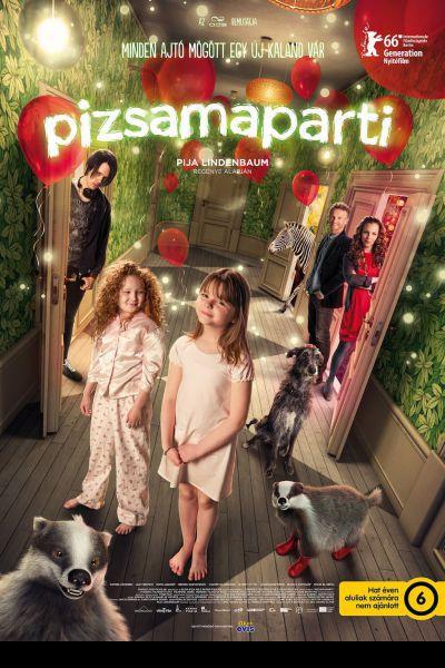Pizsamaparti – Plakát