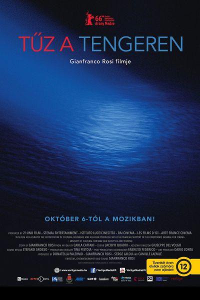 Tűz a tengeren – Plakát