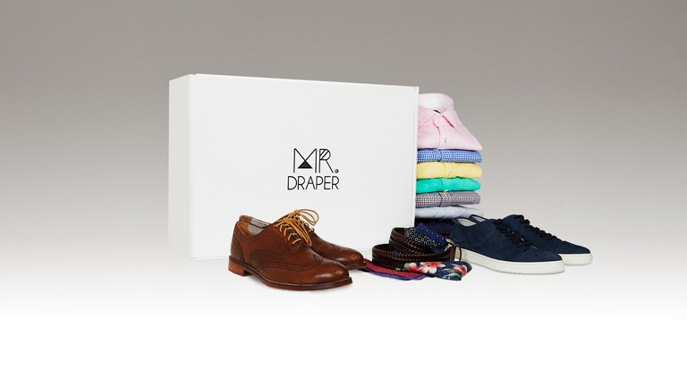 Mr. Draper styling service package