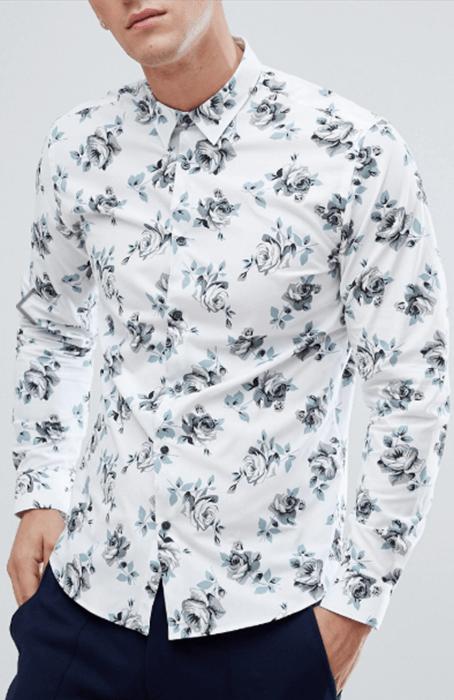 Floral shirts - Mr.Draper