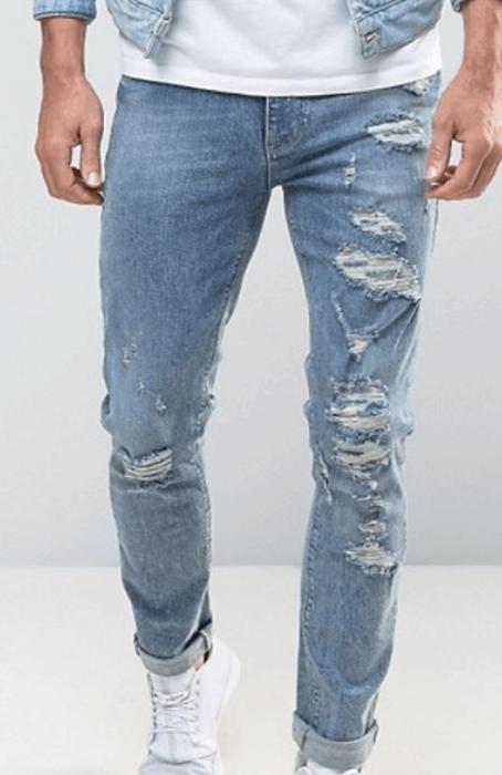 Ripped Jeans - Mr.Draper