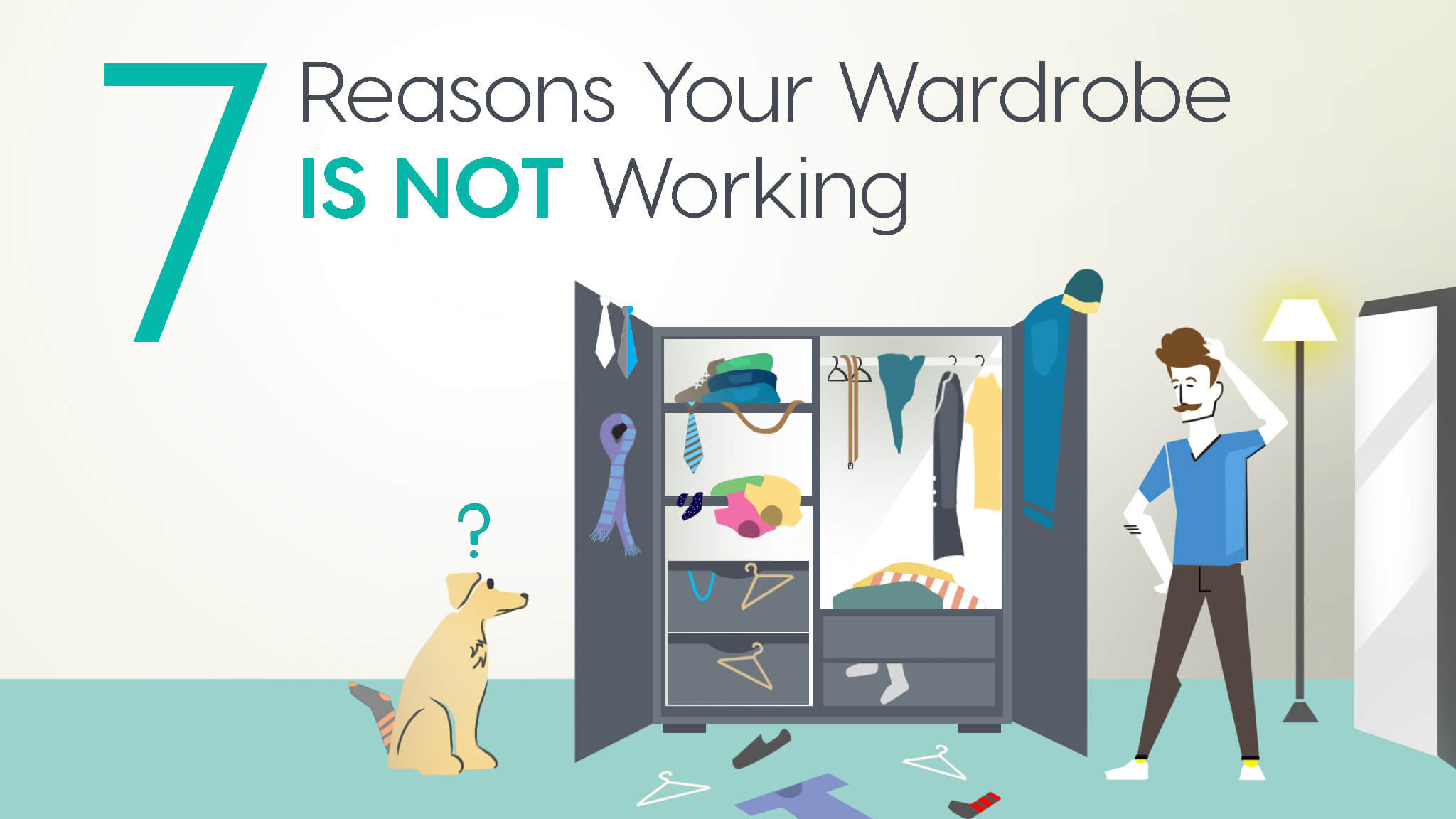 7 Reasons Your Wardrobe IS NOT Working & How To Fix The Problem