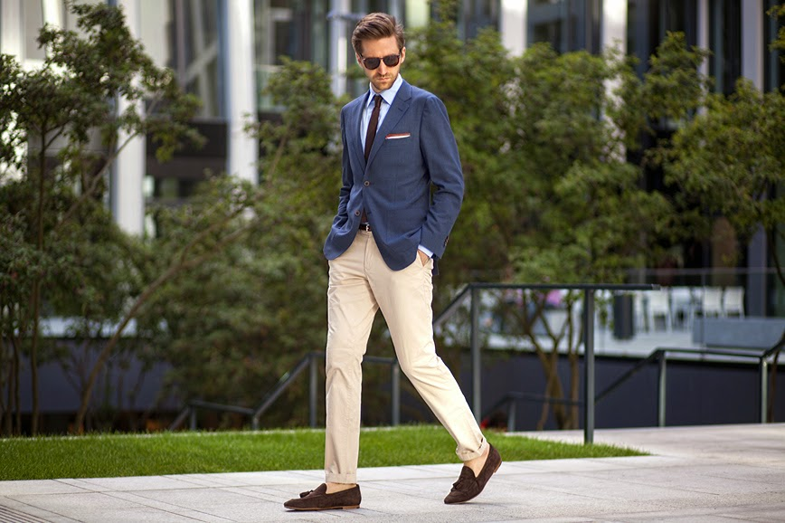How To Dress Chinos Up & Down