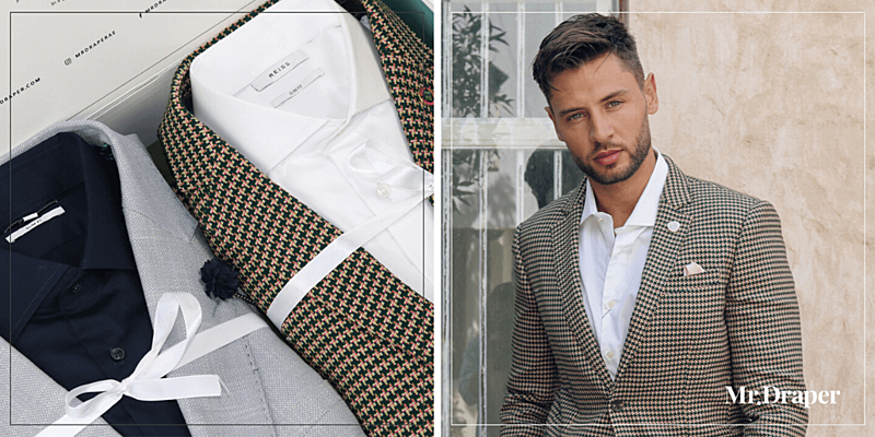 Do's And Don't How to Wear a Blazer Bold Checked Blazer from Mr. Draper