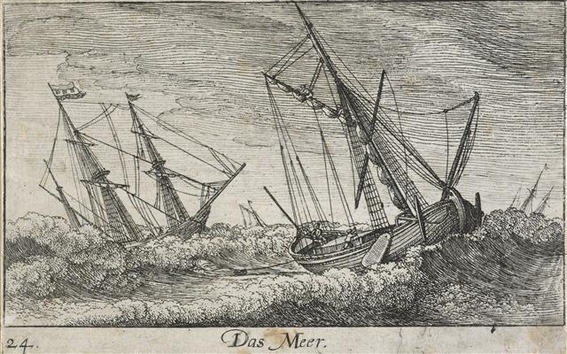 Amoenissimæ.aliquot.locorum..effigies.Plate.24.Das.Meer.Hollar.Wenceslaus