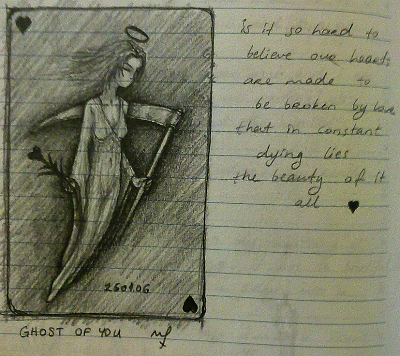 Ghost of you sketch