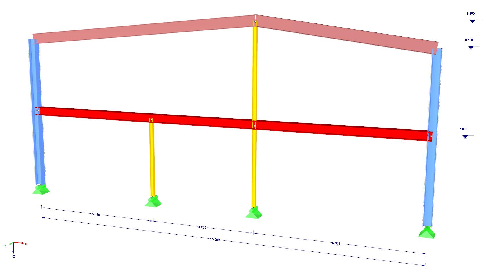 Stalen raamwerk berekenen en controleren volgens de Eurocode 3