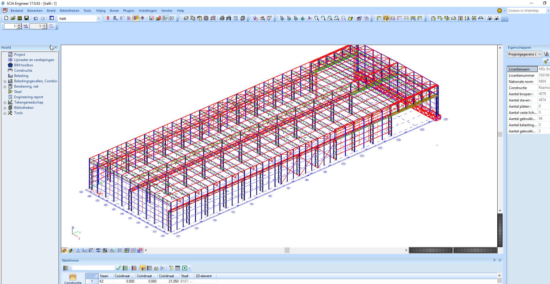 Scia engineer model exporteren naar andere rekensoftware zoals RFEM