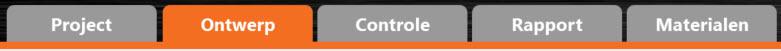 workflow TABS in verbindingen programma rekensoftware IDEA Connection