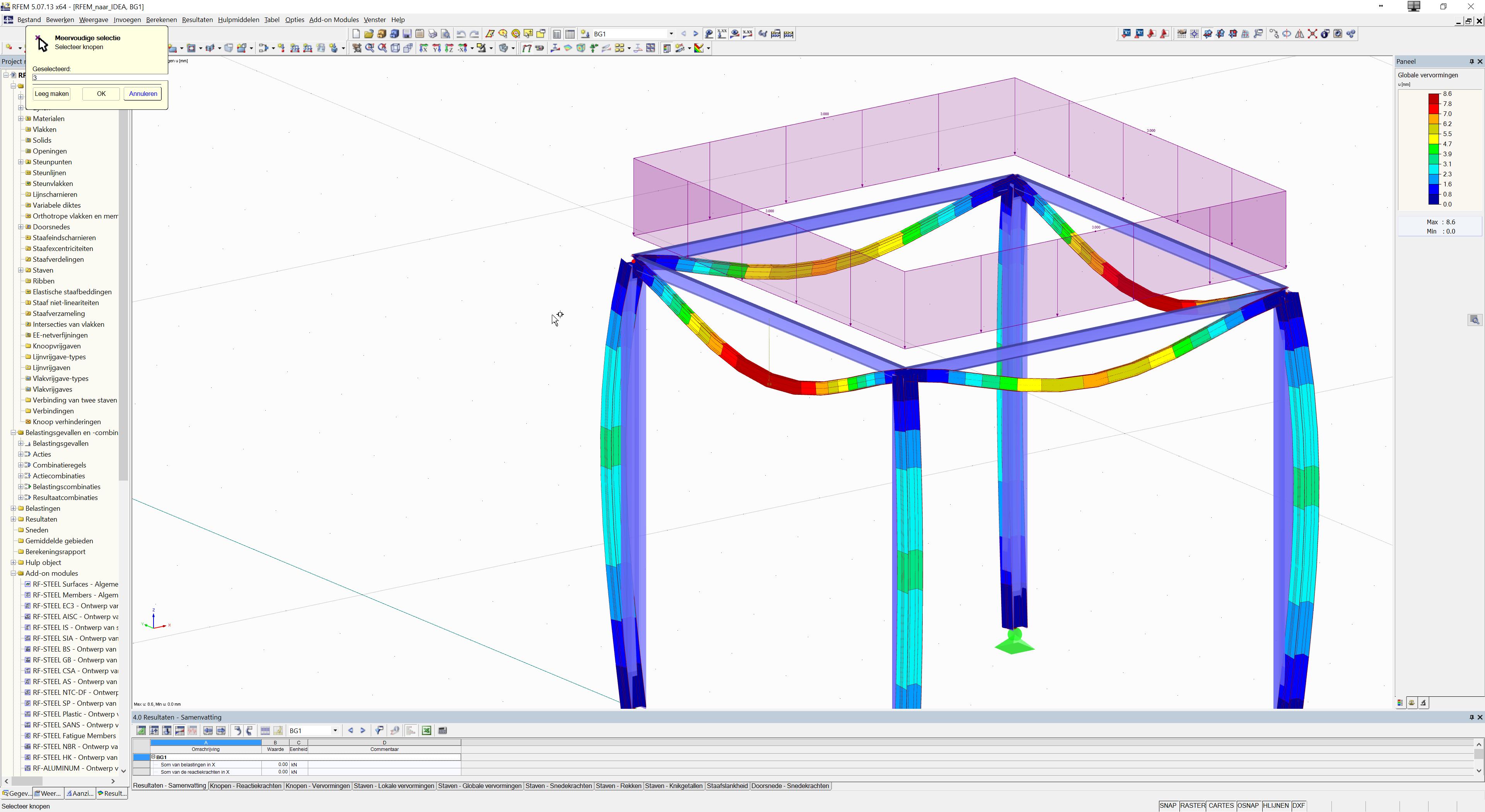 Model export vanuit RFEM naar IDEA