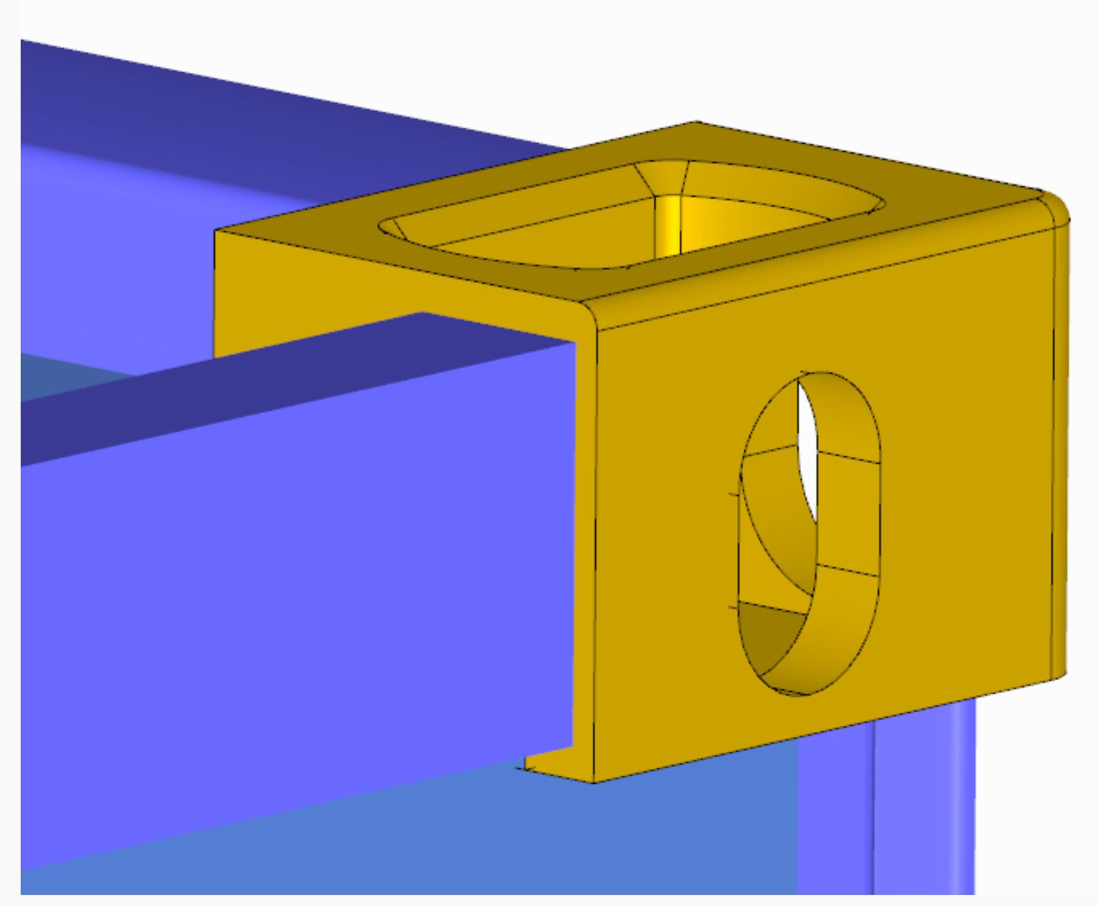 3D Container genereren hijsoog modelleren in RFEM rekensoftware