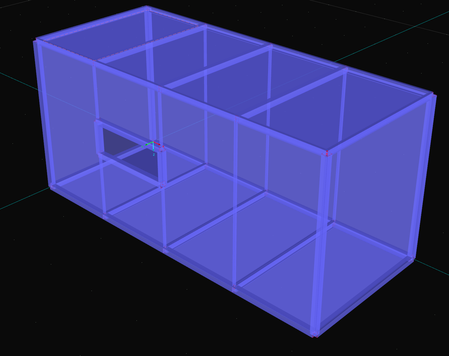 3D Container genereren in RFEM rekensoftware