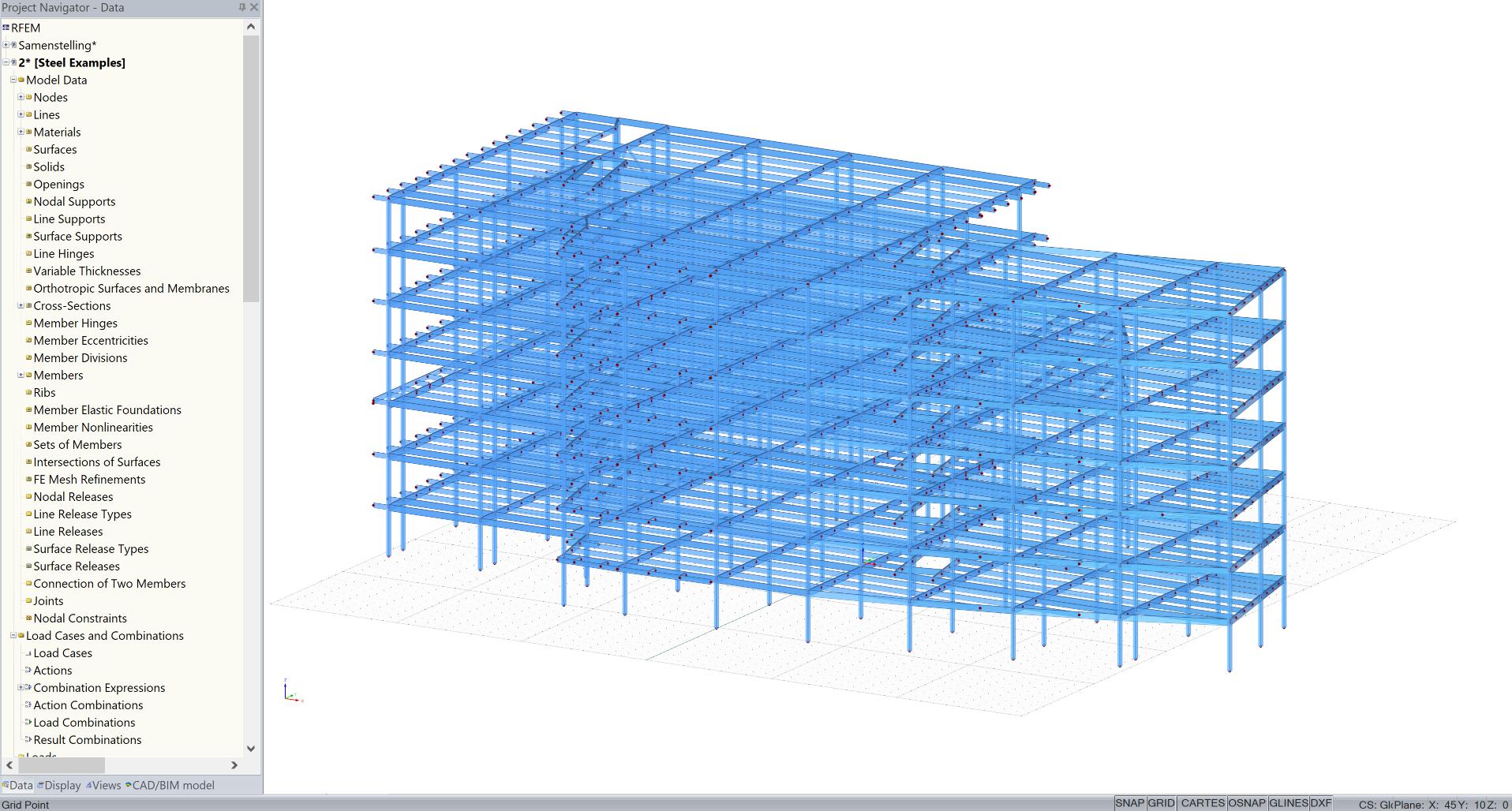 Overzetten van CAD model naar rekensoftware RFEM