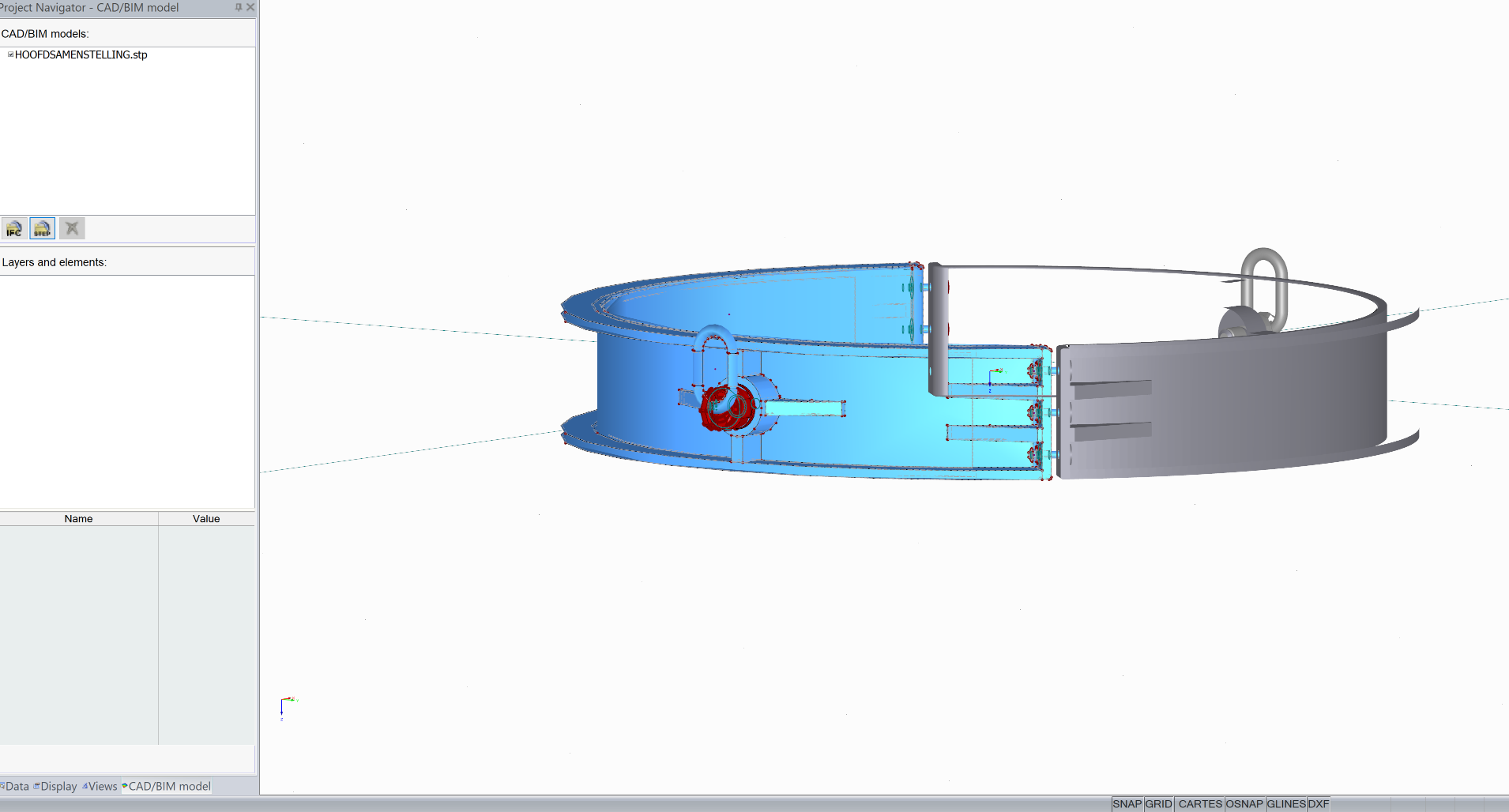 3D model omzetten in RFEM rekensoftware