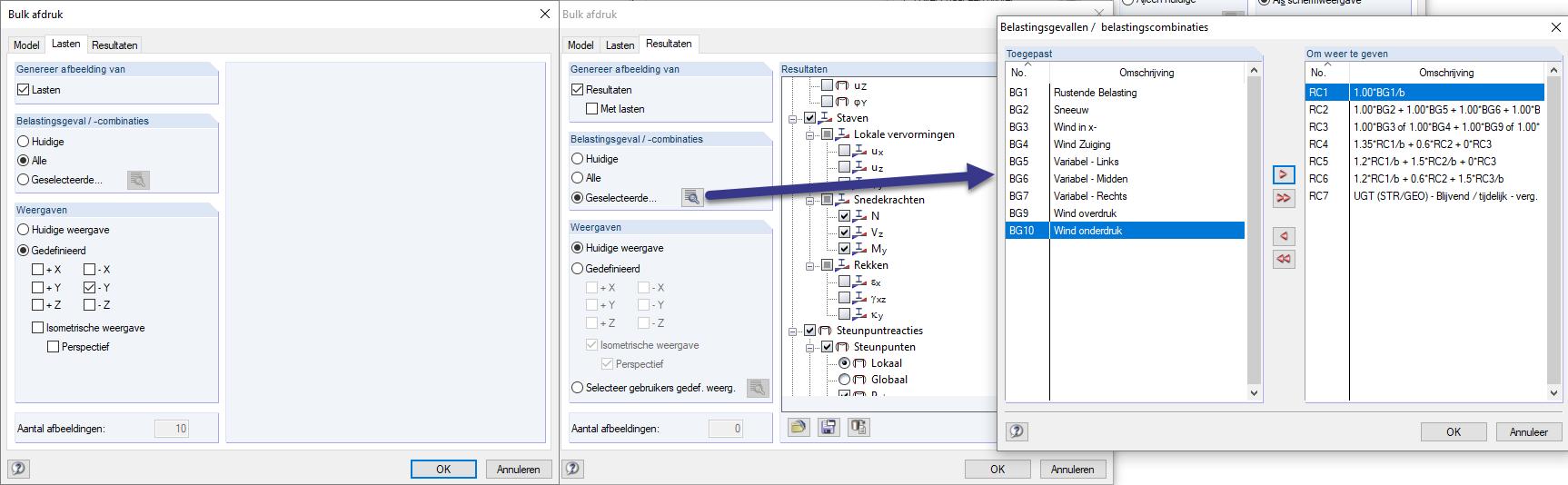 Plaatjes opmaken en toevoegen in berekeningsrapport in RFEM rekensoftware