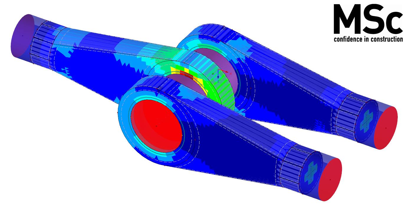 Spanningen en vervormingen berekenen van 3D solids in RFEM